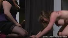 Причудливый лесбийский бдсм: видео жесткого разврата